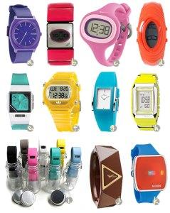 muitos relógios, minha gente!